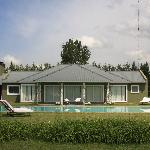 Club house with swimming pool