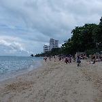 ビーチの様子1