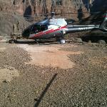 Landing in the canyon