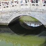 Les Eaux d'Or. Le pont est en marbre; Cité Interdite