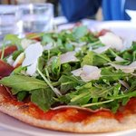 pizza Rucola. Simply fabulous.