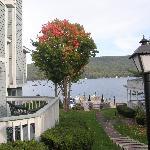 View towards lake
