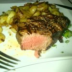 250 gram filet with Bratkatoffeln