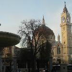 iglesia de san manuel y san benito desde el retiro