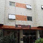 Exterior del hotel.