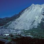 The Frank Slide Interpretive Centre and Turtle Mountain