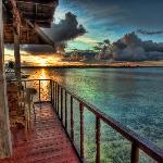 sunset from 101 breeze bar