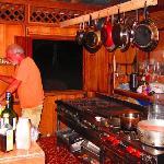 Bert en la cocina
