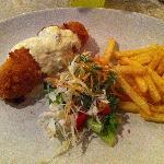 Chicken Cordon Bleu (FJD20.00) - Cafe Thirty