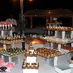 The wonderful desserts on Gala Night