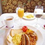 the heavy daily breakfast
