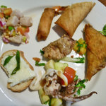 Appetizers Of Cafe Elysa