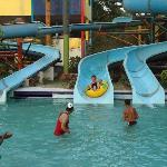 Slides in Mayank Blue Water Park Indore