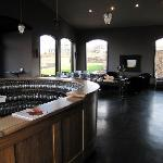 Our Tasting Bar, where you can enjoy the amazing views of Georgian Bay & our vineyards