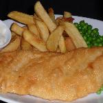 good ole fish and chips