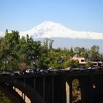 View from the balcony Mnt. Ararat