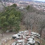 Blick vom Großvaterfelsen in Blankenburg