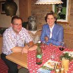 Ihre Gastgeber Alois und Christine Rupprechter