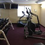 great fitness center with free weights