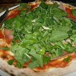 pizza regina coeli crudo porcini rucola