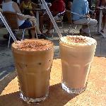 Ah Cacao Iced Mocha and Iced Latte