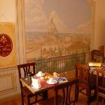 Sala colazioni - nostro angoleto