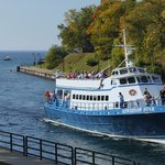Keweenaw Star returning from a cruise