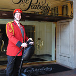 The Peabody Memphis Duckmaster on a Segway PT!