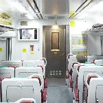 ETS train from Ipoh to KL