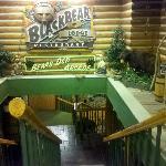 Black Bear lodge restaurant entrance