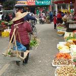 Street market in Yangshuo