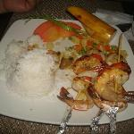 Best Prawn Kebabs by chef Delloro!...couldn't help it..