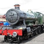 Pitchford Hall, one of EOR's home locomotive fleet