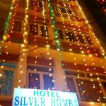 Hotel silver home during new year of 2012.