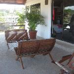 Our veranda