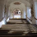 Abbazia di St. Florian la scalinata