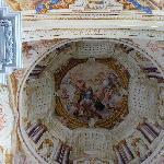 Abbazia di St. Florian cupola affrescata della chiesa