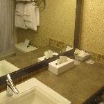 Nicely updated bathroom