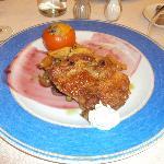 cena: entrecotte de pollo