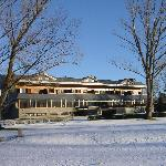 El chalet del Golf nevado
