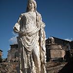 Le célèbre forum et Colisée