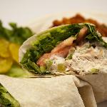 Smoked Chicken Salad Wrap