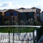 appartements avec terrasses sur la piscine