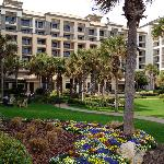 Spring flowers adorn the Ritz-Carlton Amelia Island