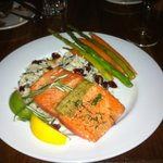 The cedar plan Alaskan salmon - wow!