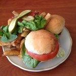 mini burgers / fries