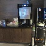 Automatc beverage machine & my fav is hot chocolate ;)'