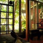 Relaxing at the Pagoda Inn