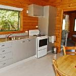Kitchen, Spa Chalet 10