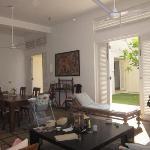 Inside Sagara villa